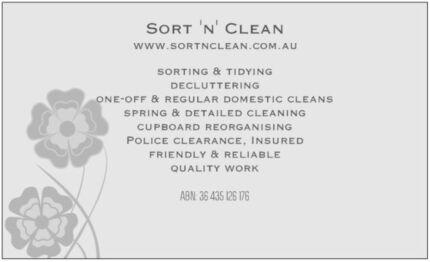 Sort 'n' Clean