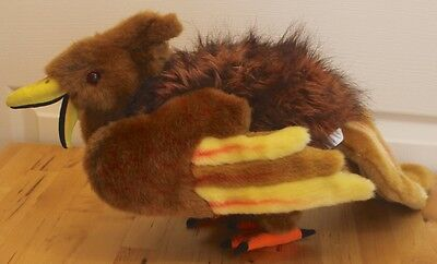 Hansa Sitting Phoenix Fire Bird Animal Realistic Stuffed Toy Plush