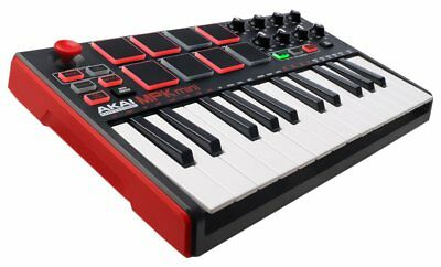 Akai Professional MPK mini MKII - 25- Key Compact Keyboard and Pad Controller