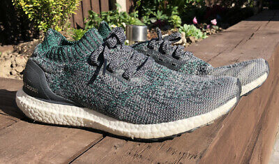 Adidas Ultraboost Uncaged - Grey/Green - Size Uk 8.5