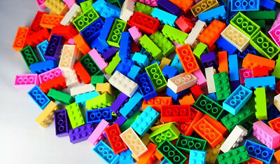 ☀️50 X LEGO 2x4 BRICKS MIX LEGOS ALL COLORS HUGE BULK LOT PARTS PIECES RANDOM #1