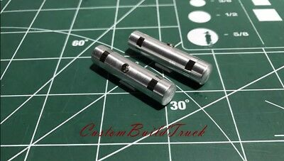 "Custom DCP a pair Aluminum Fuel Tanks 1 5/8"" wide Stripes 1/64"