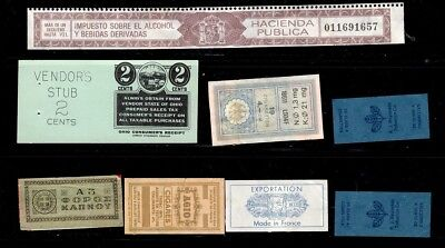 Tobacco labels Collection