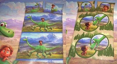 Disney Baby Bettwäsche 100 x 135 cm Arlo & Spot 100% Baumwolle Dino Dinosaurier ()