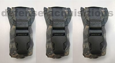 LOT OF 3 NEW MILITARY ISSUE USGI ACU FLASHBANG GRENADE POUCH