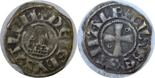 1163-1174 Amalric I (Amaury) King Of Jerusalem Crusader Denier Holy Sepulcher