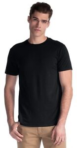 69 BLANK JERICO BAMBOO T-SHIRTS - BLACK AND WHITE - ALL SIZES