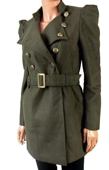 Pack of Brand New Women's Military Style Coats