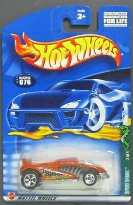 Hot Wheels 1/64 Collector No. 076 Speed Shark No. 2 of 4 Item No. 54350