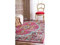 Brand New Rug, Moroccan style, multicoloured, originally £120! Size: 5'3 x 7'7