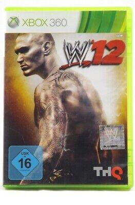 WWE 12 (Microsoft Xbox 360) Spiel in OVP - GUT