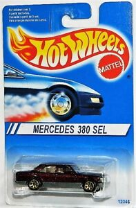 Hot Wheels 1/64 Mercedes 380 SEL Diecast Car