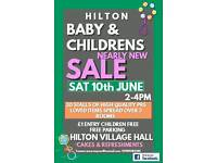 Hilton Baby and Children's Nearly New Sale