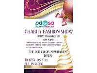 Pdsa late night charity fashion show and christmas shopping
