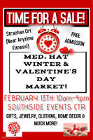 Med. Hat Winter & Valentine's Day Market