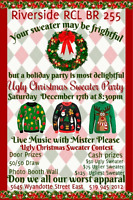Riverside RCL  BR 255 Ugly Christmas Sweater Party