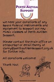 Seeking musical donations for Perth Autism Support