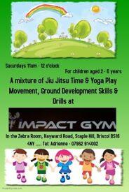 Jiu Jitsu classes for children 2-6 years old