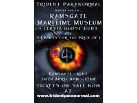 Paranomal Event with trident Paranormal at Ramsgate maritime museum and the Cervia