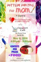 Pottery Painting for Mom! (Fundraiser)