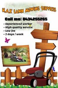N.A.K.Lawn Mowing Services Hunterview Singleton Area Preview