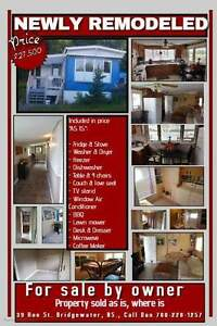Newly Remodeled Mobile Home *PRICE REDUCED