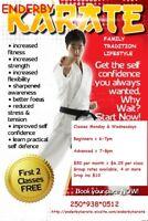 Karate in Enderby