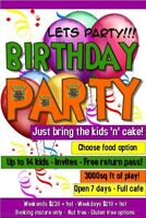 Birthday Parties - Best value in HRM