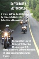 Fallen Riders Memorial Run May 29/16