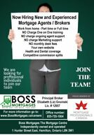 Hiring new Mortgage Agents / Brokers - Commission based
