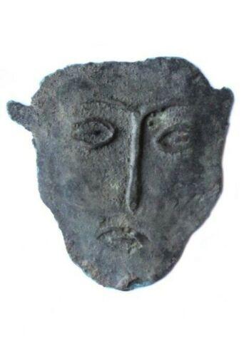 Extremely Rare Shamanistic mask. Siberia. Kulayka