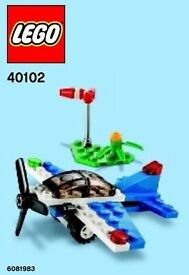 6 of New Lego Poly bags