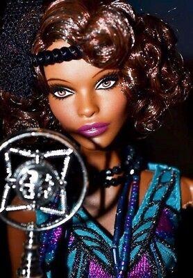 Barbie Harlem Theatre CLAUDETTE GORDON Doll MINT IN SHIPPER Gold Label