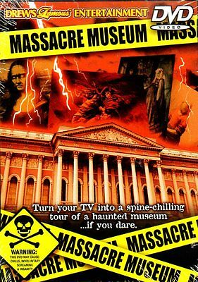 MASSACRE MUSEUM: VIRTUAL HALLOWEEN PARTY SCENE-SETTER DVD w/CREEPY SOUND EFFECTS](Virtual Halloween)