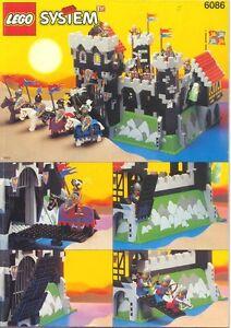 Divers chateaux, castles lego a vendre ou échanger