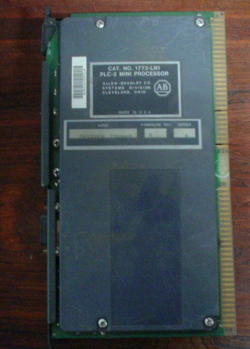 1772-ln1 Series A, Firmware Rev E 1772ln1 Allen-bradley -  1 Year Warranty