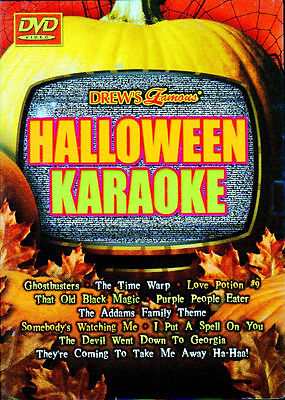 Drew's Famous HALLOWEEN KARAOKE: VIRTUAL PARTY DVD w/ CLASSIC SCARY MOVIE SCENES ()