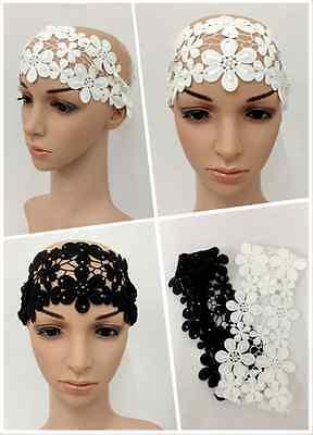 Muslim Islamic Lace Flower Floral Headband Headpiece Hairband Women Amira Arab](Arab Headpiece)