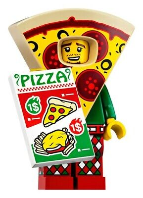 Lego Series 19 Pizza Costume Guy Minifigure #10 71025