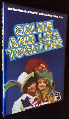 Goldie And Liza Together Dvd  Tv 1980  Goldie Hawn Liza Minnelli Johnny Harris