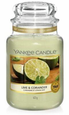 """YANKEE CANDLE - GIARA GRANDE """"LIME & CORIANDER"""" DUR. MAX. 110/150 H - 1651382E"""