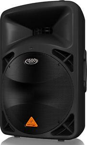 """Behringer B615D 1500 WATTS 15"""" speaker"""
