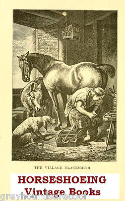 Horseshoeing Collection 40 Vintage Horse Shoeing Farriery Books on Data Disc