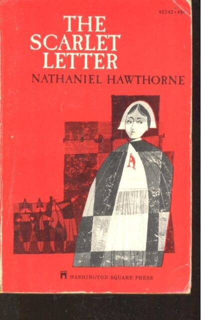 The Scarlet Letter by Nathaniel Hawthorne (1968, Paperback)