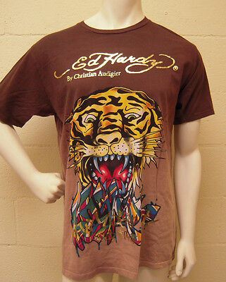 Ed Hardy New York City Wild Style Tiger T Shirt (XL) NEW Ed Hardy New Tiger