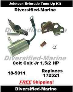 evinrude 2hp outboard engines components johnson evinrude tune up kit colt jr 1 5 hp 2 hp 1968 1990