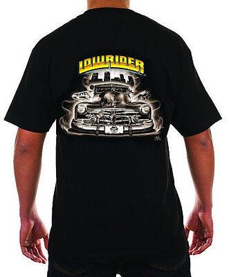 Lowrider Clothing Og Cruizer T Shirt Old School Street Hustler Authetic Men's (New School Clothing)