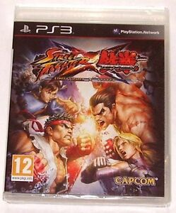 STREET FIGHTER X TEKKEN FOR PS3; NEW & SEALED; Posted first class next day