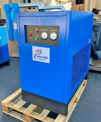 New 150 Cfm Refrigerated Compressed Air Dryer 50hp Compressor 220v Cooler Depot