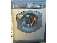 hotpoint washing machine 8kg comes with warranty can be delivered